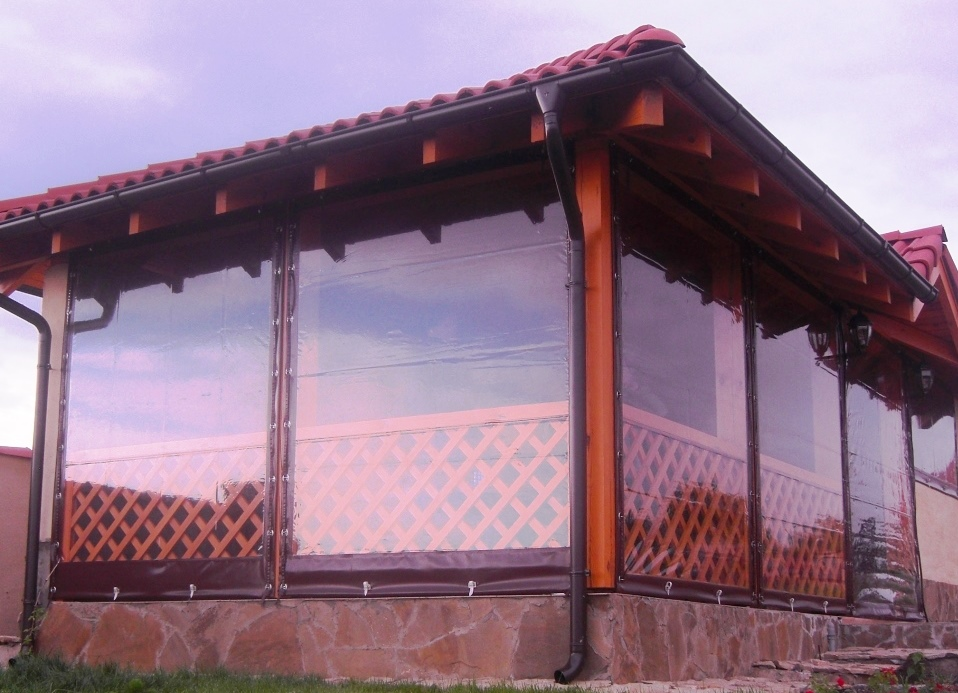 Гибкие окна из ПВХ
